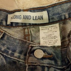 Gap Long and Lean Jean. Size 1   JCT 4